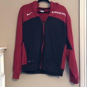 Nike Washington State Zip Up Hoodie